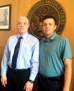 Davis Bauer and Judge Collins