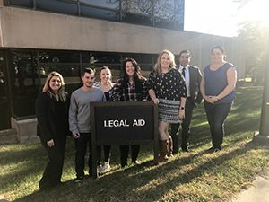 Legal Aid Clinic interns