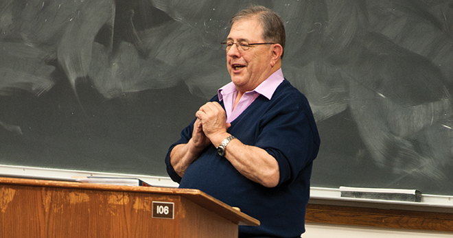 Professor Emeritus Bill Westerbeke