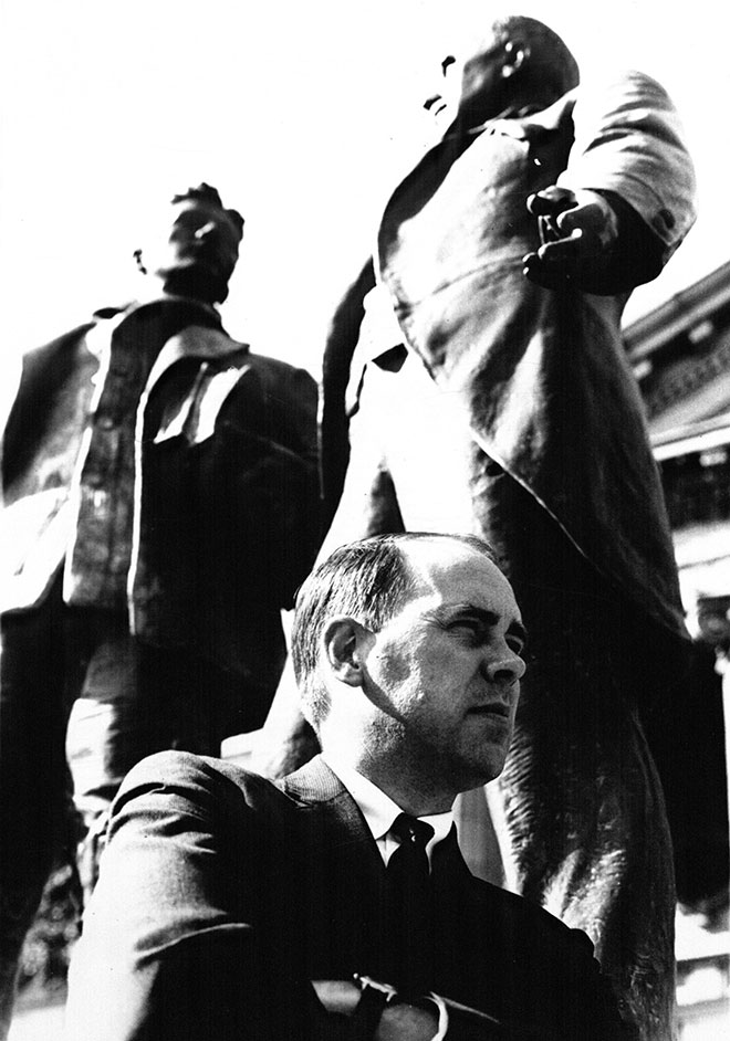 Former KU Law Dean James Logan in 1968