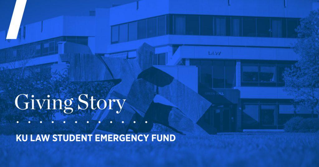 Giving Story: KU Law Student Emergency Fund