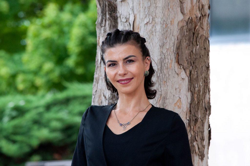 Photo of Hilal Lale Ayhan Izmirli.